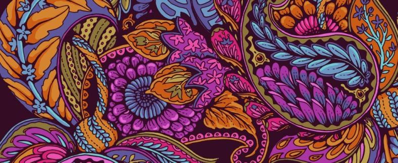 Paisley Dream - autumn colors by Celandine